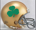 Notre Dame Fighting Irish Shamrock Riddell NCAA Replica Mini Helmet