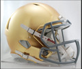 Notre Dame Riddell NCAA Mini Speed Football Helmet