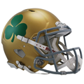 Notre Dame Fighting Irish Shamrock Authentic Speed Helmet