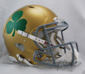 Notre Dame Shamrock Riddell NCAA Mini Speed Football Helmet