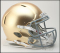 Notre Dame Special Riddell NCAA Mini Speed Football Helmet