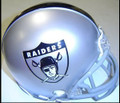 Oakland Raiders 1963 Replica AFL Throwback Z2B Mini Helmet