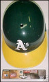 Oakland A's Replica Full Size Souvenir Batting Helmet
