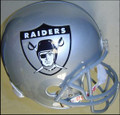 Oakland Raiders 1963 & 2009-10 AFL Throwback Full Size Replica Helmet