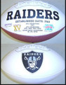 Oakland Raiders Full Size Logo Football