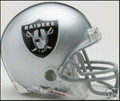 Oakland Raiders Mini Replica Helmet