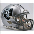 Oakland Raiders Mini Speed Football Helmet