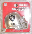 Oakland Raiders NFL Pocket Pro Single Football Helmet