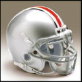 Ohio State Buckeyes Mini Authentic Schutt Helmet