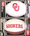 Oklahoma Sooners Full Size Signature Embroidered Series Football