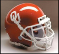 Oklahoma Sooners Mini Authentic Schutt Helmet