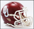Oklahoma Sooners Riddell NCAA Mini Speed Football Helmet