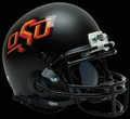 Oklahoma St Cowboys Mini Authentic Alt Black Schutt Helmet