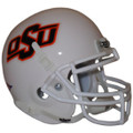 Oklahoma St Cowboys White Mini Authentic Schutt Helmet