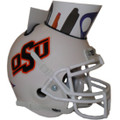 Oklahoma State Cowboys Mini Football Helmet Desk Caddy WHITE