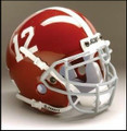 Alabama Crimson Tide Full Size Authentic Schutt Helmet