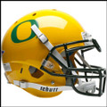 Oregon Ducks Authentic Schutt NCAA Gold XP Football Helmet