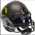 Oregon Ducks Carbon Fiber Mini Authentic Schutt Helmet