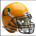 Oregon Ducks Full Size Authentic Gold Schutt Helmet