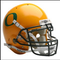 Oregon Ducks Full Size Replica Gold Schutt Helmet