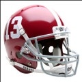 Alabama Crimson Tide Full Size Replica Schutt Helmet