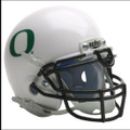 Oregon Ducks Mini Authentic White Schutt Helmet