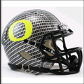 Oregon Ducks Mini Speed Football Helmet (Carbon Fiber Hydrofx)