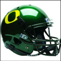Oregon Ducks Schutt NCAA XP Green Full Size Replica Helmet