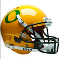 Oregon Ducks Schutt NCAA XP Gold Full Size Replica Helmet