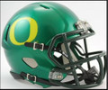 Oregon Riddell Mini Speed Revolution Football Helmet