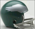 Philadelphia Eagles 1959-69 Throwback 2-Bar Mini Replica Helmet