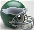 Philadelphia Eagles 1974-95 Throwback Full Size Authentic Helmet