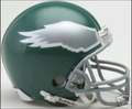 Philadelphia Eagles 1974-95 Throwback Mini Replica Helmet