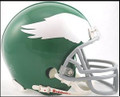 Philadelphia Eagles 59-69/2010-11 Throwback Z2B Mini Replica Helmet