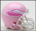 Philadelphia Eagles Mini Replica Pink Helmet