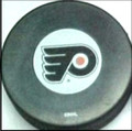 Philadelphia Flyers NHL Logo Puck