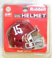 Alabama Crimson Tide NCAA Pocket Pro Single Football Helmet
