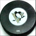 Pittsburgh Penguins NHL Logo Puck