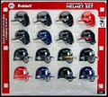 American League MLB Riddell Pocket Pro Helmet Set 16pc