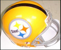 Pittsburgh Steelers 1962 Throwback Z2B Mini Replica Helmet