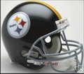 Pittsburgh Steelers 1963-76 Throwback Full Size Authentic Helmet
