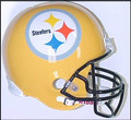 Pittsburgh Steelers 2007 75th Anniversary Full Size Replica Helmet