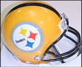 Pittsburgh Steelers 75th Anniversary 2007 Gold Mini Replica Helmet