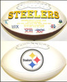 Pittsburgh Steelers Full Size Logo Football