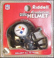 Pittsburgh Steelers NFL Pocket Pro Single Football Helmet