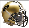 Purdue Boilermakers Full Size Authentic Schutt Helmet