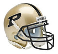 Purdue Boilermakers Mini Authentic Schutt Helmet