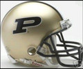 Purdue Boilermakers Mini Replica Helmet