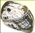 Anaheim Ducks NHL Full Size Street Extreme Youth Goalie Mask