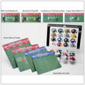 Riddell NFL Helmet Standings Tracker Set and Display Boards
